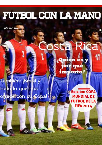 Futbol Con La Mano Junio 2014