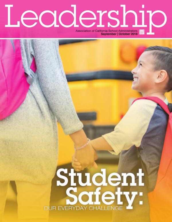 Leadership magazine Sept/Oct 2018 V48 No. 1