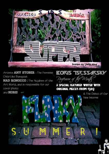 Sid's Opened Lid Sid's Opened Lid's Super Funky Summer Issue 02