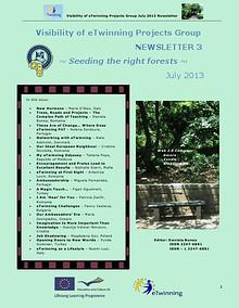eTwinning Visibility Newsletter no. 3
