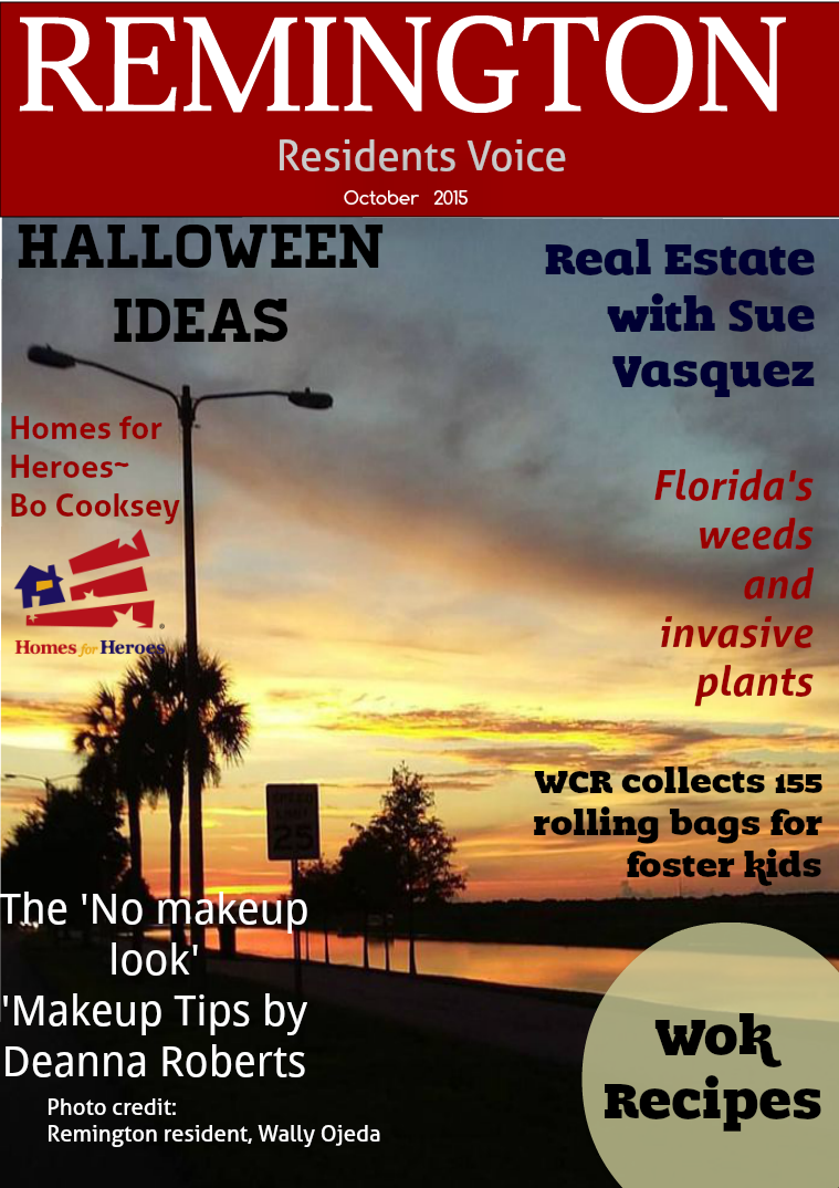 Remington Residents Voice October 2015