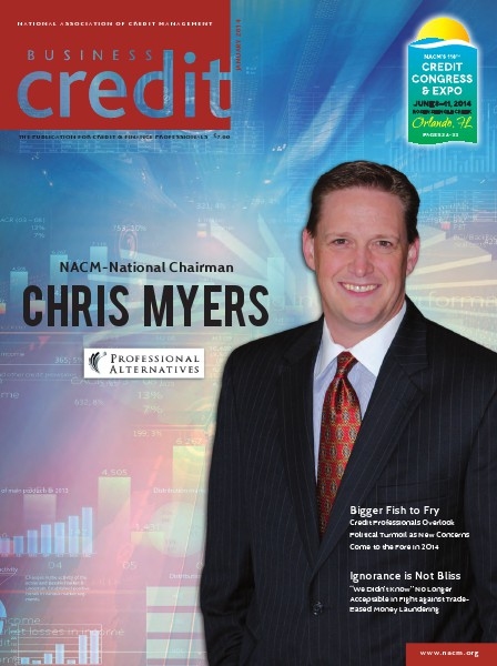 Business Credit Magazine January 2014