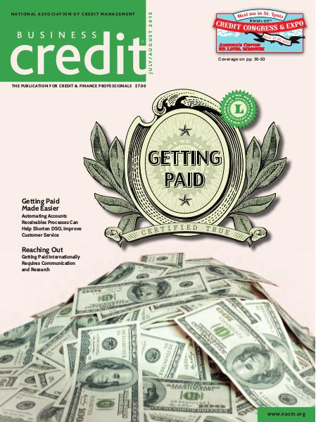 Business Credit Magazine July/August 2015