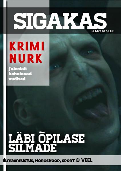 Sigakas Juuli 2014/ 2. number