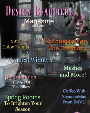 Design Beautiful Magazine April 2017 Spring Issue 2017