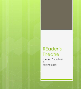 REader's Theatre Oct 2012