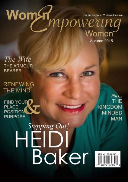 Women Empowering Women Magazine Autumn Issue 2015