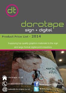 Sign & Digital Price Guide