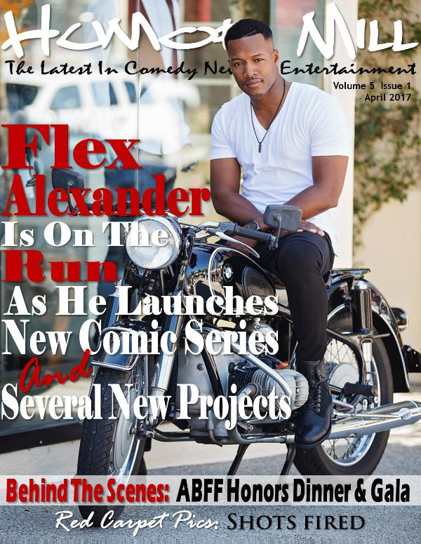 The Humor Mill The Flex Alexander On The Run Issue