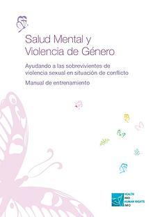 Spanish - Mental health and gender-based violence
