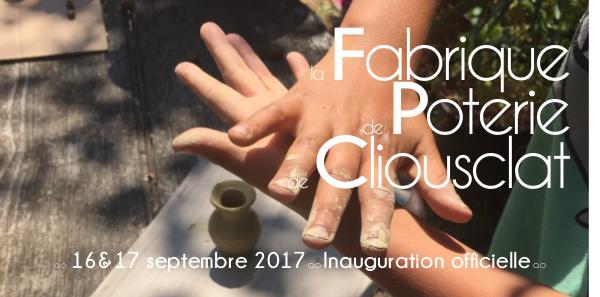 Publications mairie de Cliousclat Inauguration poterie de Cliousclat