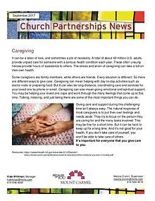 Church Partnership Newsletter