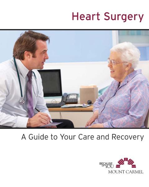 Patient Education Heart Surgery