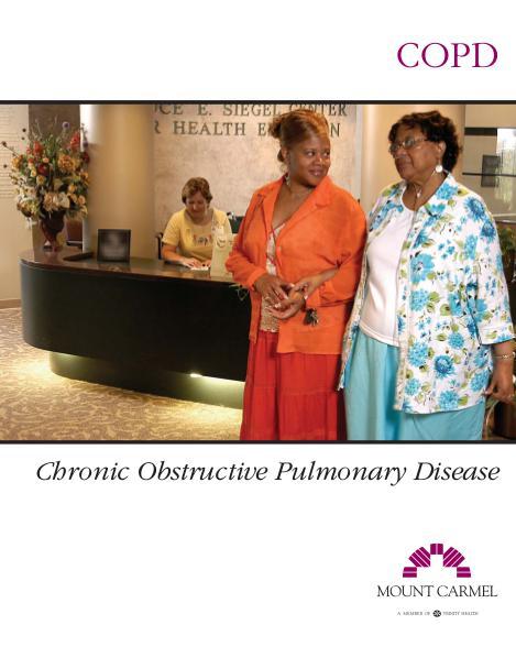 Patient Education COPD: Chronic Obstructive Pulmonary Disease