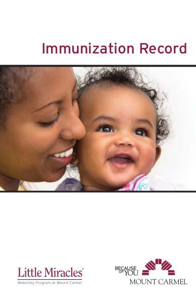Patient Education Immunization Record