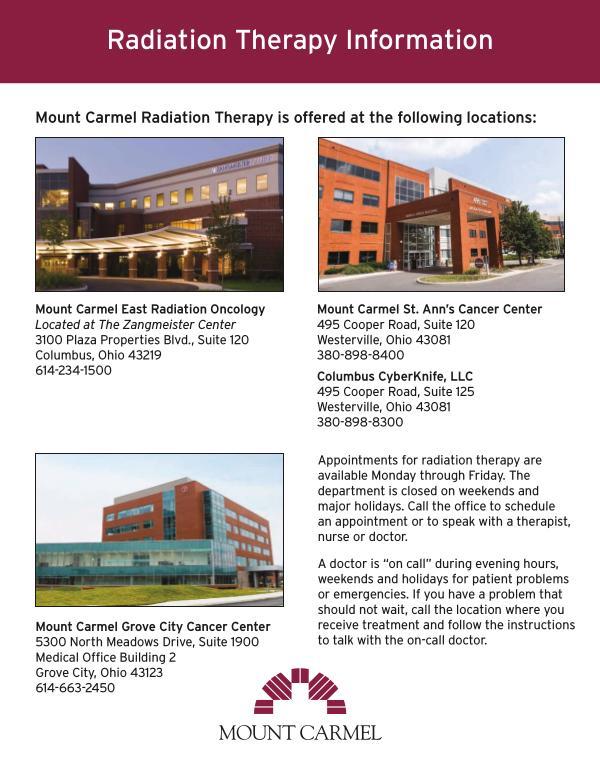 Patient Education Mount Carmel Health Columbus Oh