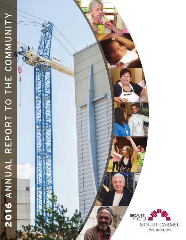 Mount Carmel Foundation Annual Report 2016 Annual Report