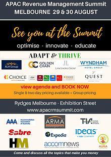 APAC Revenue Management Summit 2017