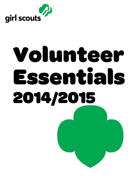 Volunteer Essentials 2014-15