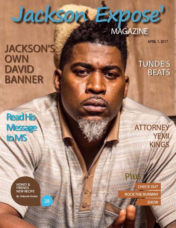 JACKSON EXPOSE' MAGAZINE April 2017