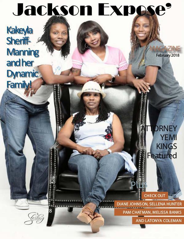 February  2018 Issue of Jackson Expose' FEBRUARY 2018 ISSUE