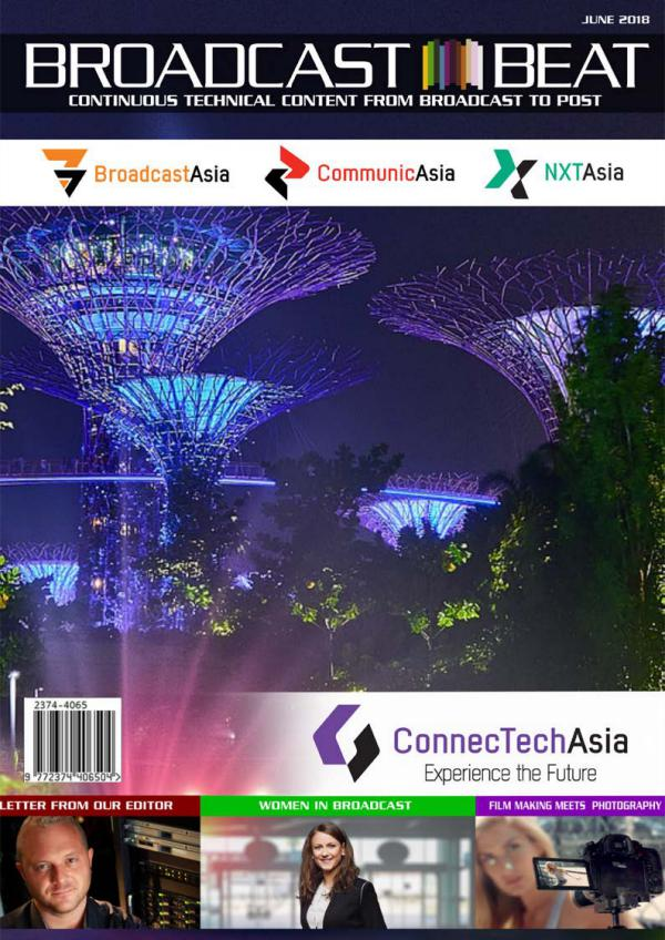 Broadcast Beat Magazine 2018 BroadcastAsia Special Edition