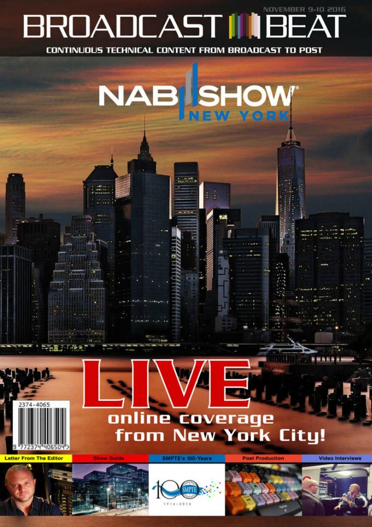 Broadcast Beat Magazine 2016 NAB NY Special