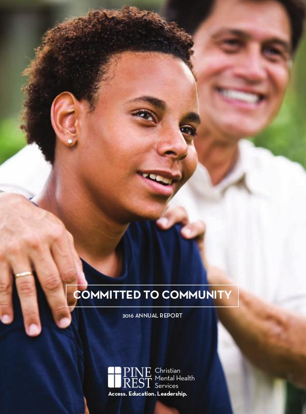 Annual Reports 2016 Committed to Community