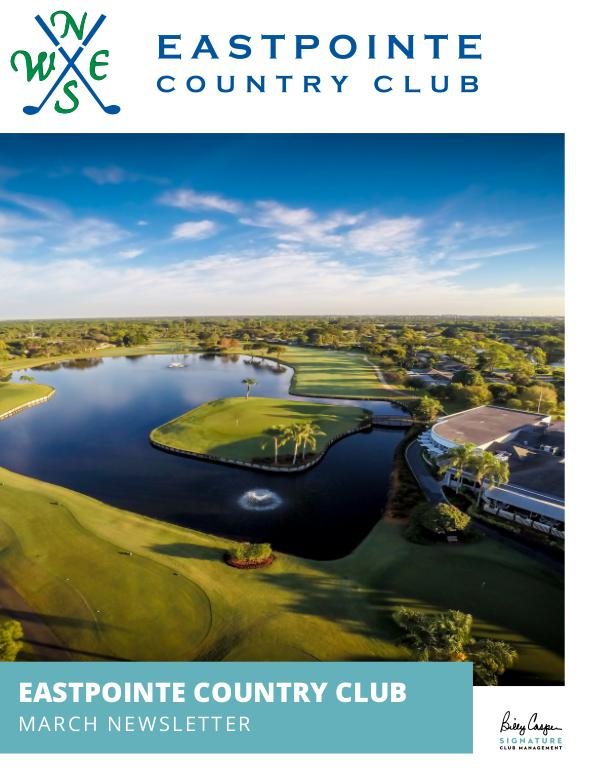 Eastpointe Country Club Newsletter 2