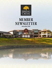 Spring Creek November Newsletter 19