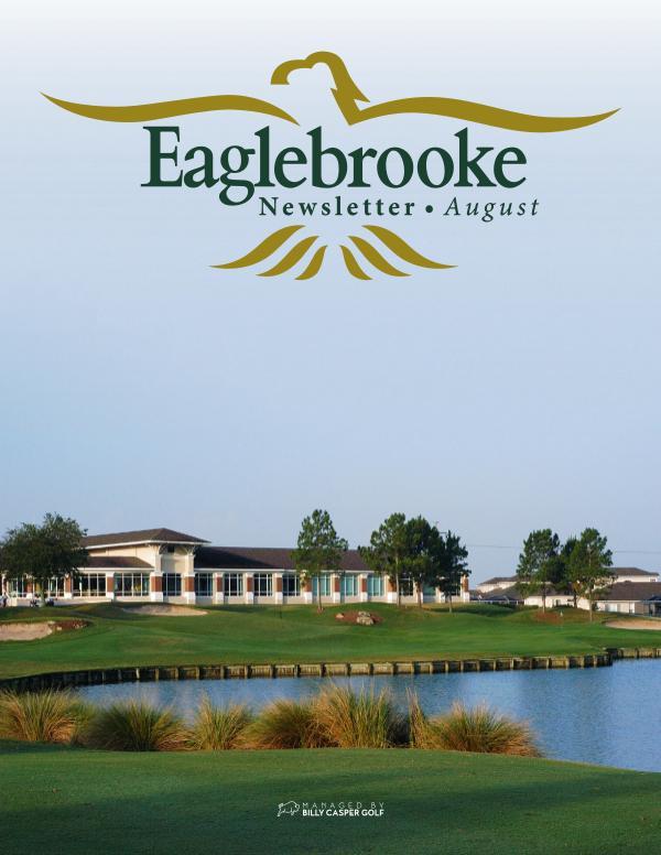 Eaglebrooke August 20 Newsletter