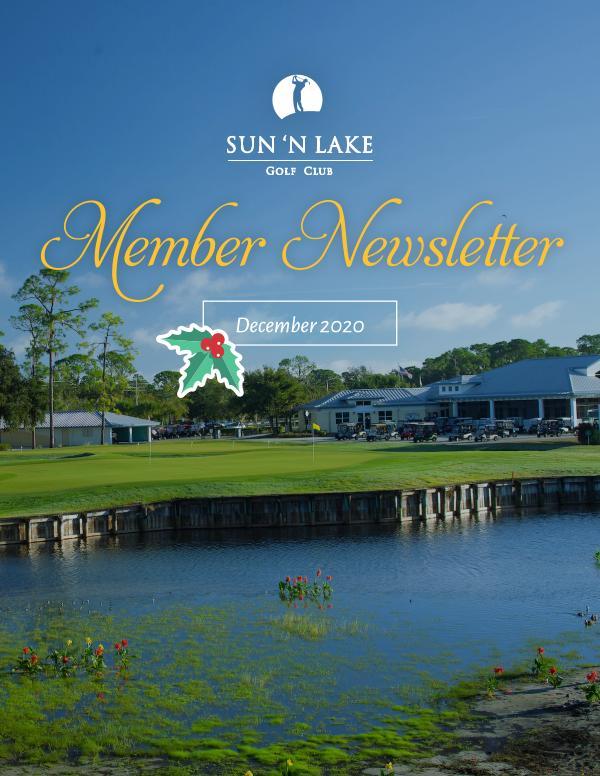 Sun N Lake December 20 Newsletter
