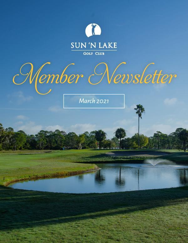 Sun N Lake March 21 Newsletter