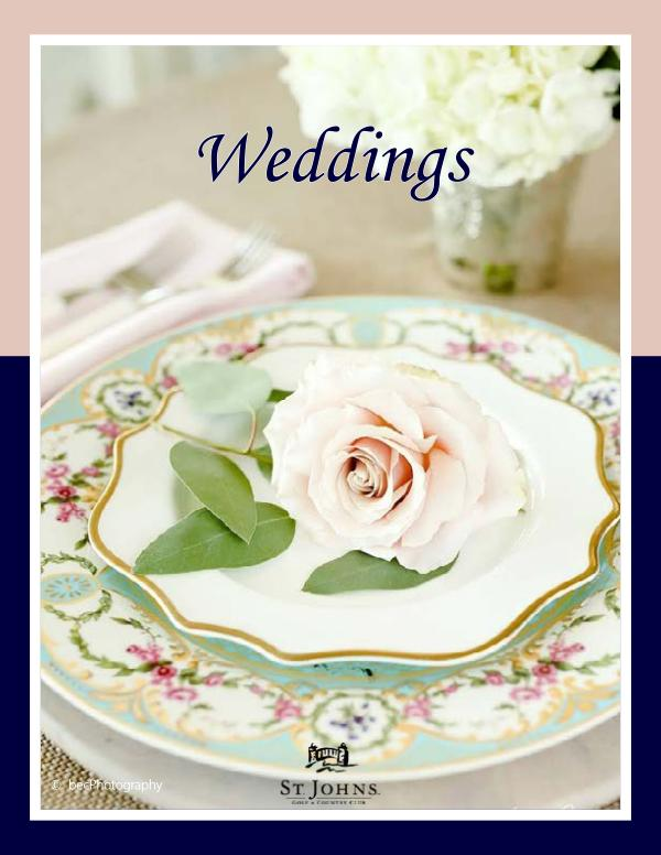St. Johns Wedding Packages