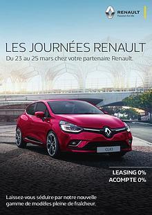 Les journées Renault