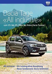 Dacia Tage «All inclusive»
