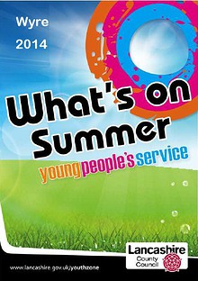 Wyre Summer booklet 2014
