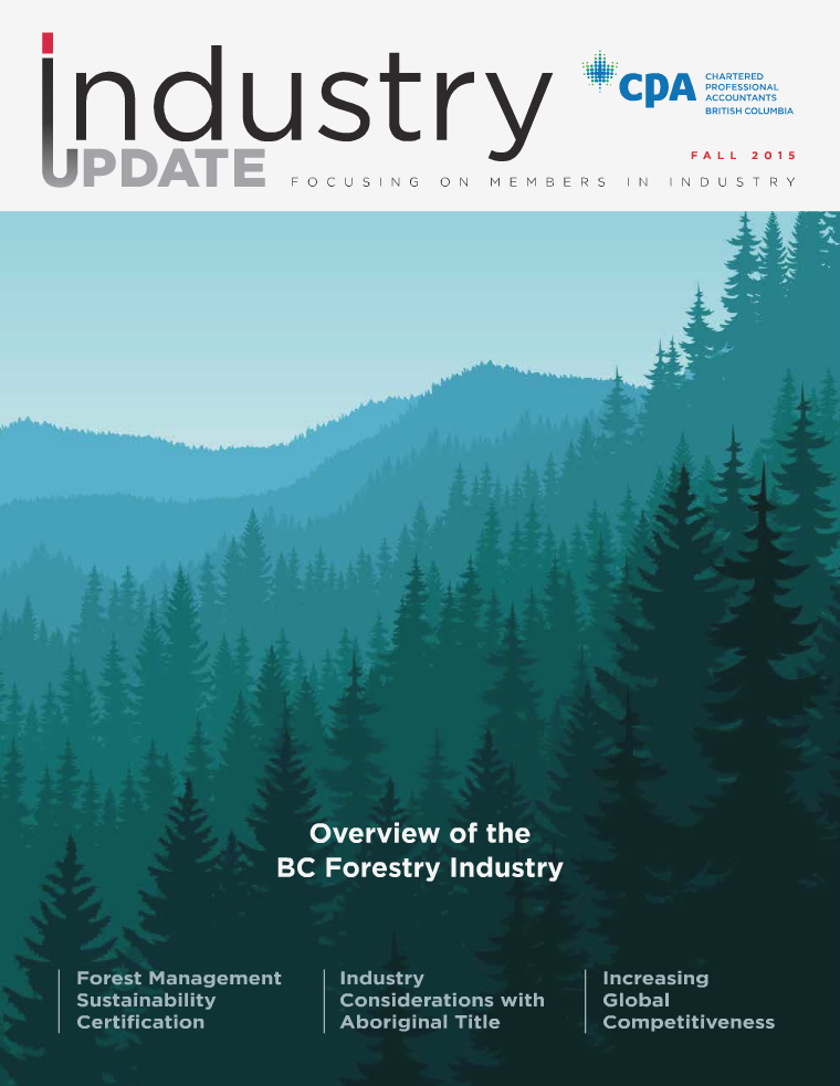 CPABC Industry Update - Fall 2015