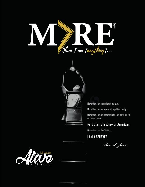 ALIVE MAGAZINE July-October 2018