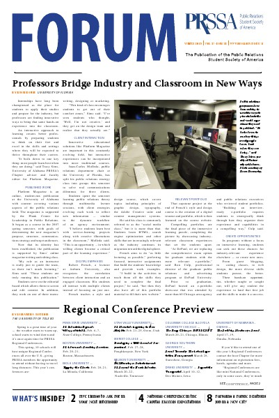 FORUM Winter 2015 Vol. 47, Issue 2