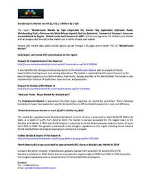 Biolubricants Market worth $2,972.13 Million by 2020