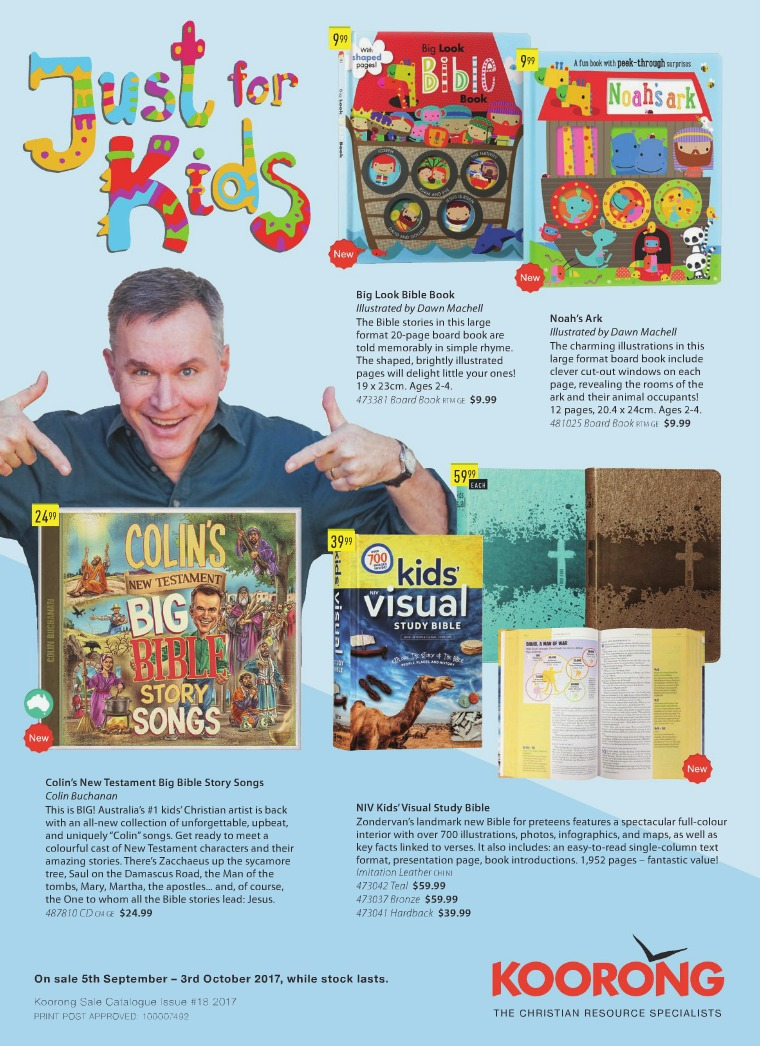 The Koorong Catalogue Just for Kids