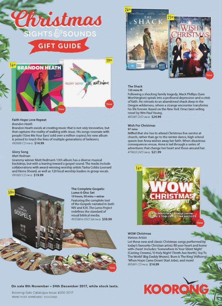 The Koorong Catalogue Sights & Sounds Vol. 4
