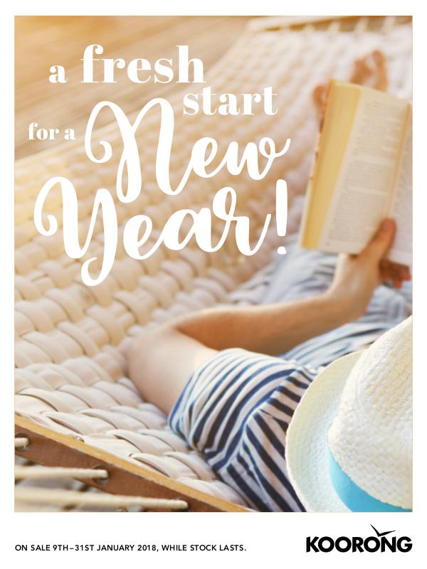 The Koorong Catalogue A Fresh Start for A New Year