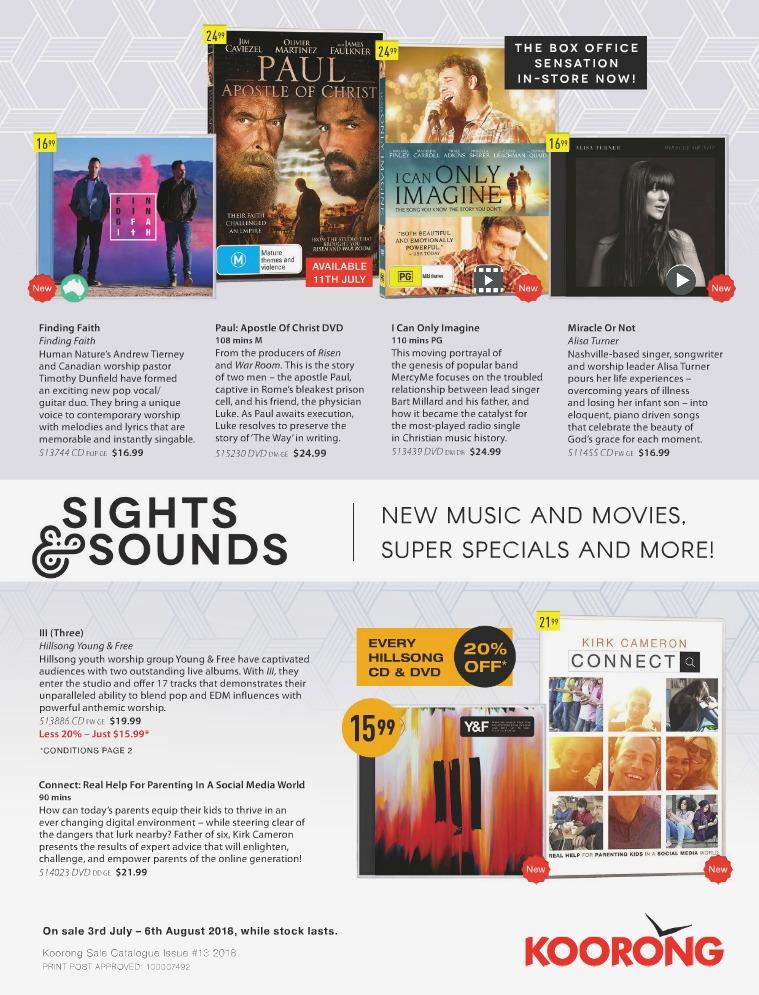 The Koorong Catalogue Sights & Sounds Vol 2