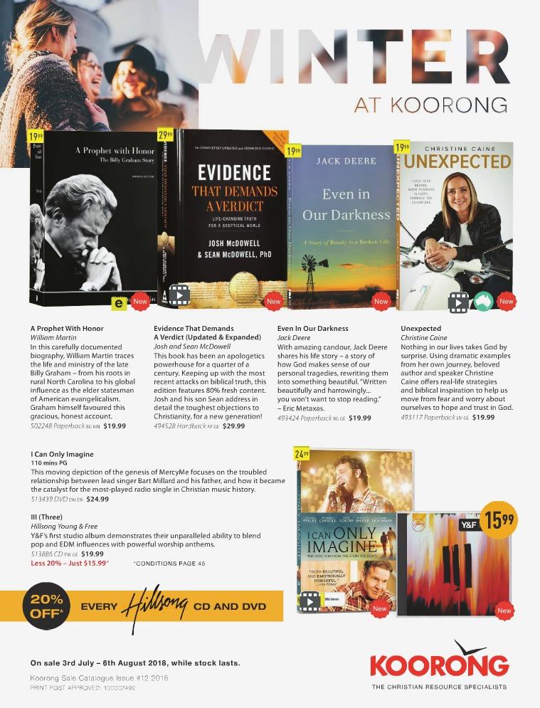 The Koorong Catalogue Winter Edition