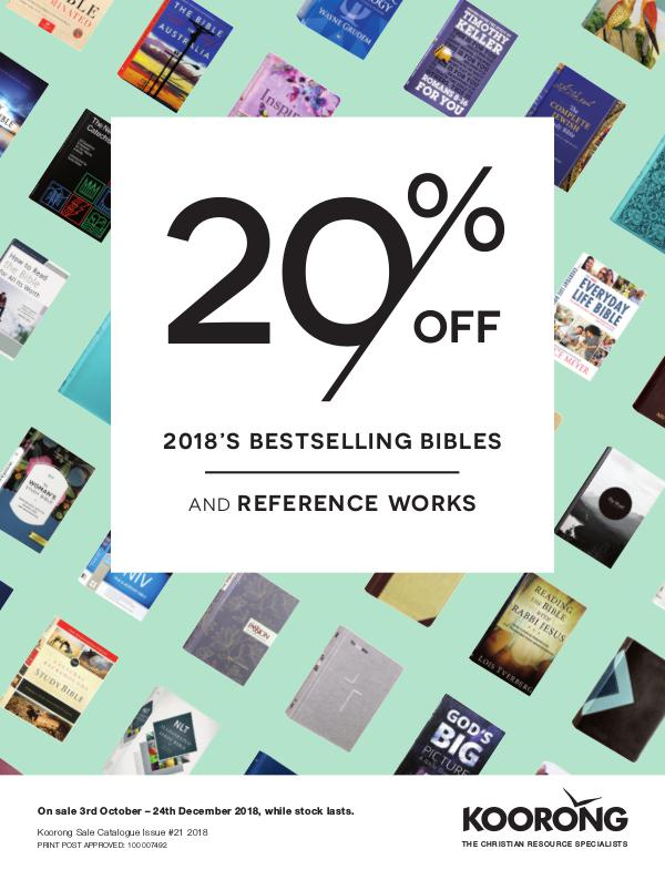 The Koorong Catalogue 2018's Bestselling Bibles