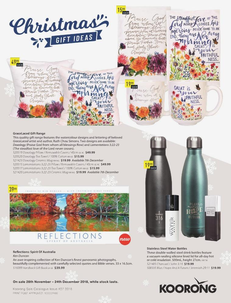 The Koorong Catalogue Christmas Gift Ideas