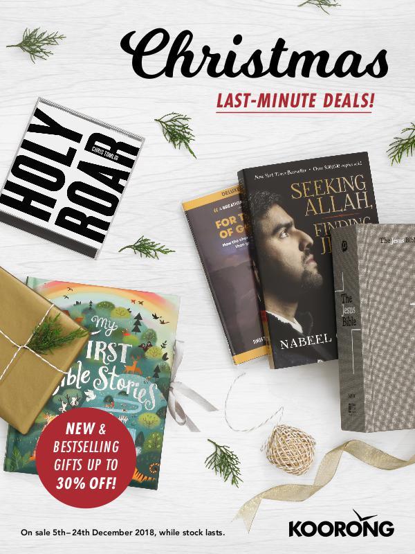 The Koorong Catalogue Christmas Last-Minute Deals!