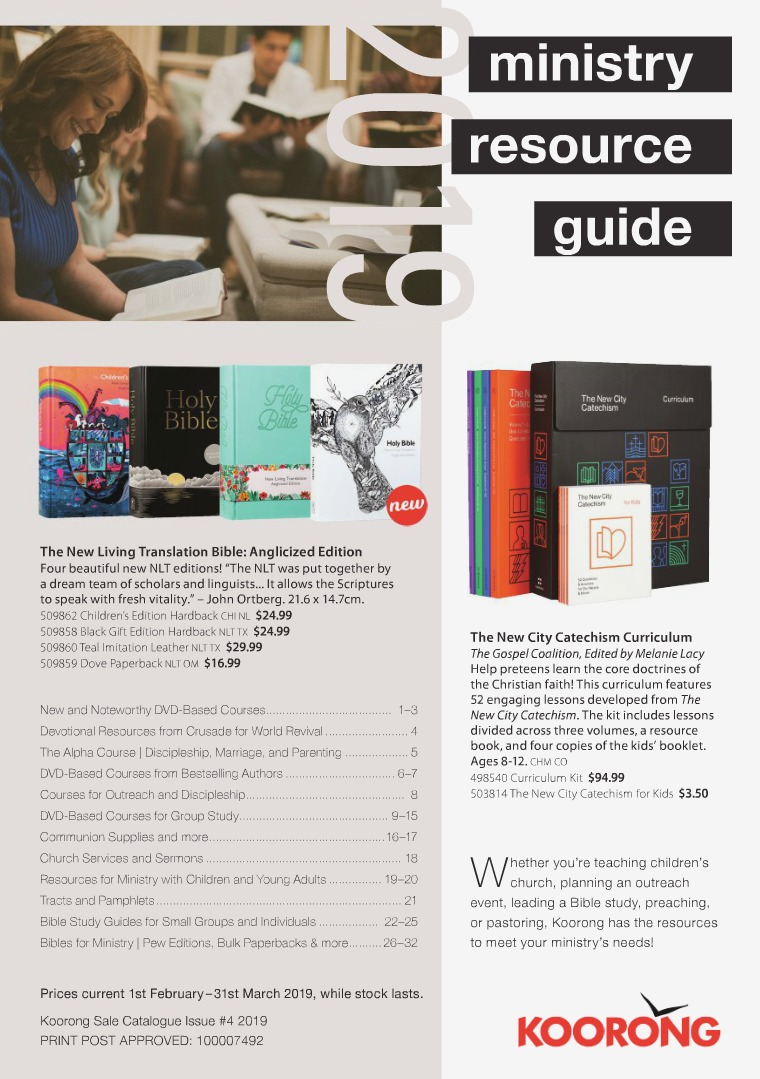 The Koorong Catalogue Ministry Resource Guide